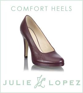 comfort heels | Julie Lopez Shoes
